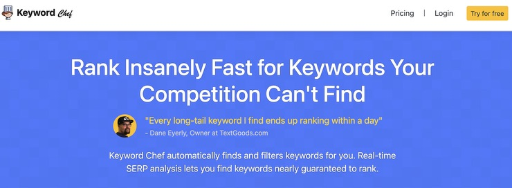 Keyword Chef Review Featured Image